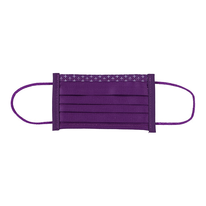 Isko Vital+ Supreme Face Cover - Purple - Small