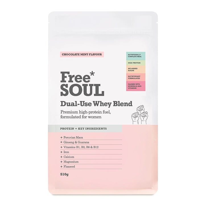 Free Soul Dual Use Blend Whey Chocolate Mint 510g