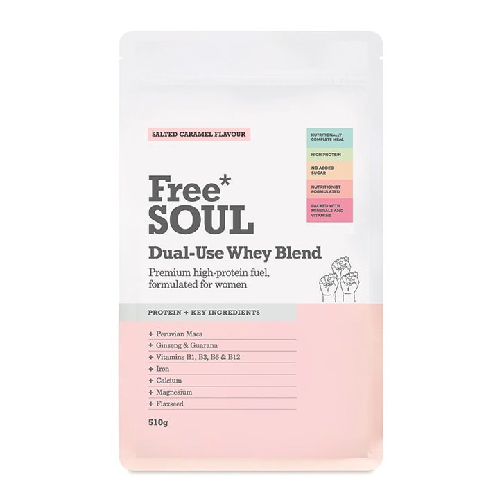 Free Soul Dual Use Blend Whey Salted Caramel 510g