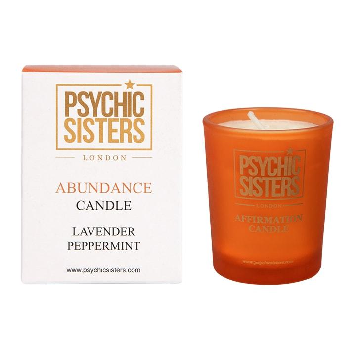 Psychic Sisters Abundance Mini Candle