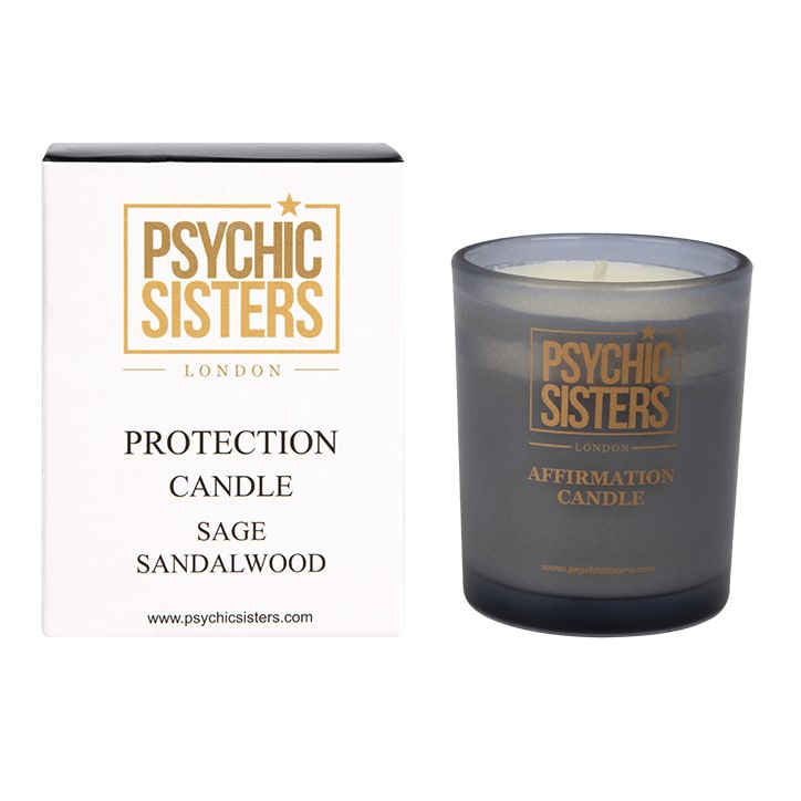 Psychic Sisters Protection Mini Candle