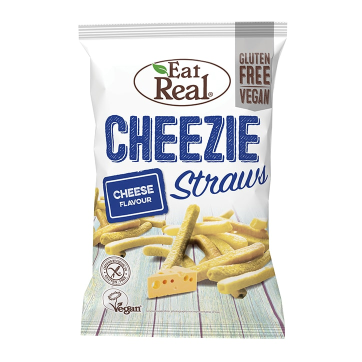 Eat Real Cheezie Straws 113g