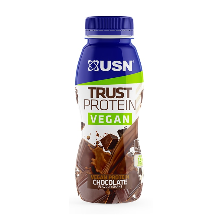 USN Trust Protein Vegan Chocolate Shake 310ml