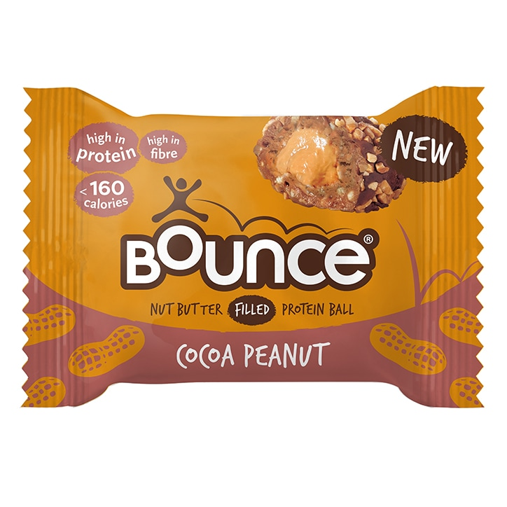 Bounce Peanut Butter Filled Cocoa Protein Ball 35g