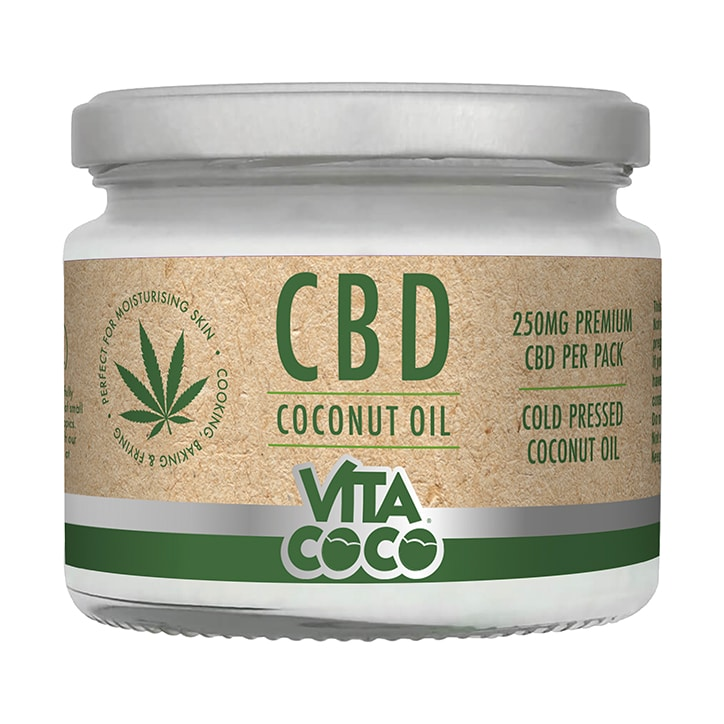 Vita Coco CBD Infused Coconut Oil 250ml