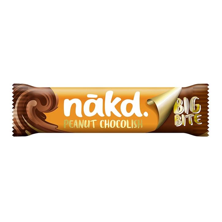 Nakd Peanut Chocolish Big Bite Fruit, Peanut & Cocoa Bar 50g