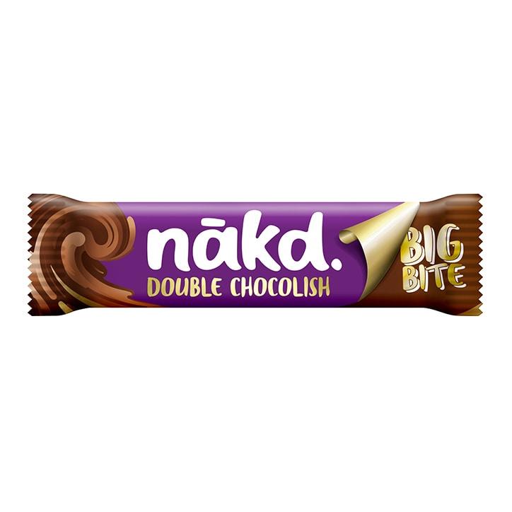 Nakd Double Chocolish Big Bite Fruit, Nut & Cocoa Bar 50g