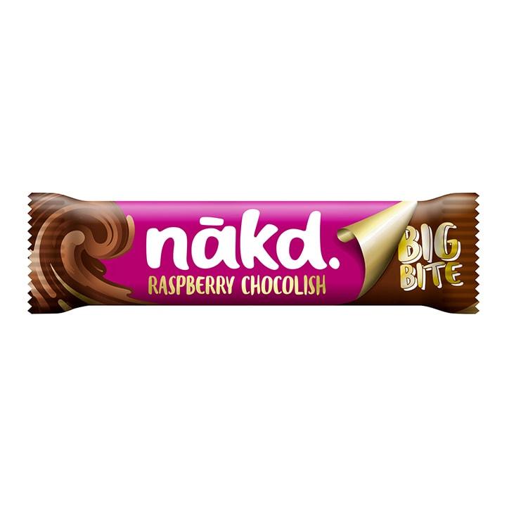 Nakd Raspberry Chocolish Big Bite Fruit, Nut & Cocoa Bar 50g