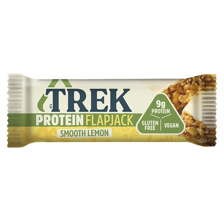 TREK Smooth Lemon Protein Flapjack 50g