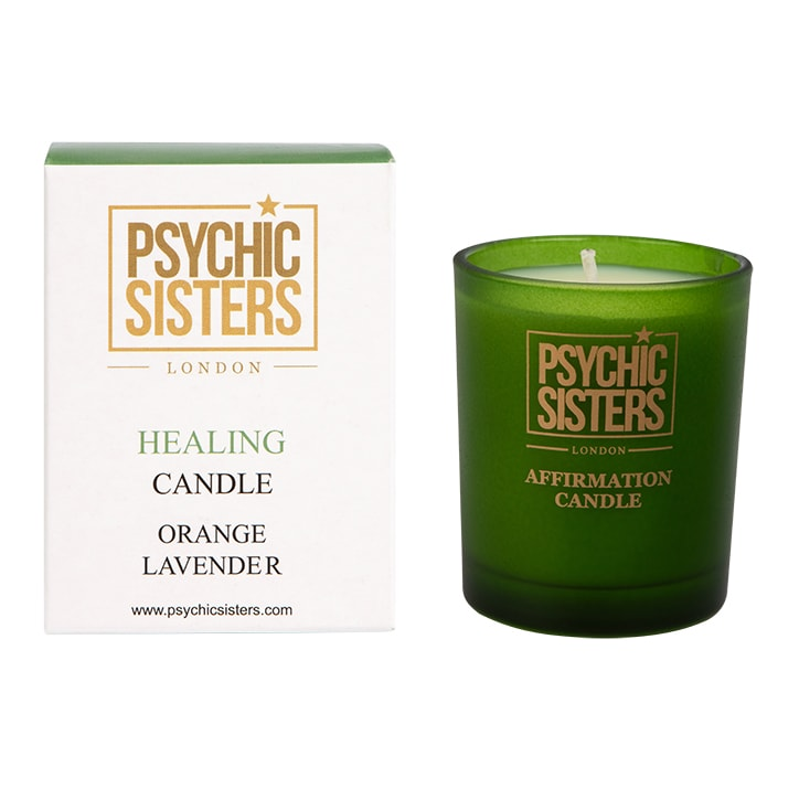 Psychic Sisters Healing Mini Candle