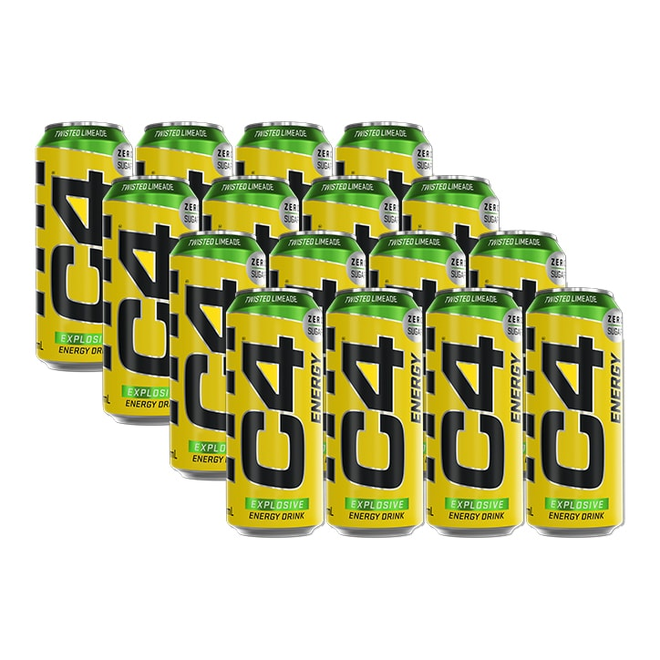 Cellucor C4 Energy Carbonated Twisted Limeade 12 x 500ml