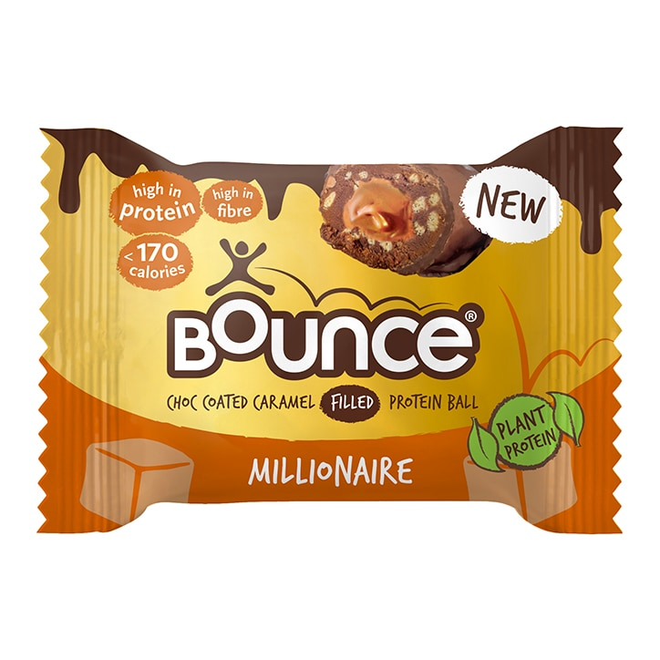 Bounce Dipped Chocolate Caramel Millionaire Protein Ball 40g