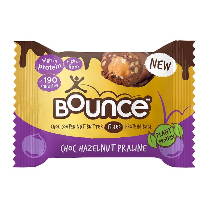 Bounce Dipped Chocolate Hazelnut Praline Protein Ball 40g