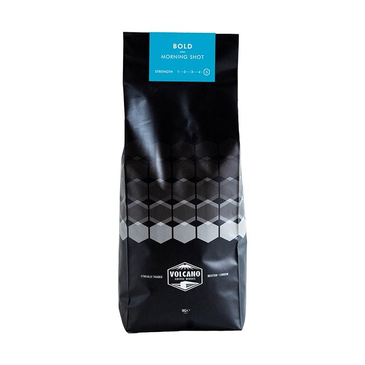 Volcano Coffee Works Bold Morning Shot Ground Coffee 1kg