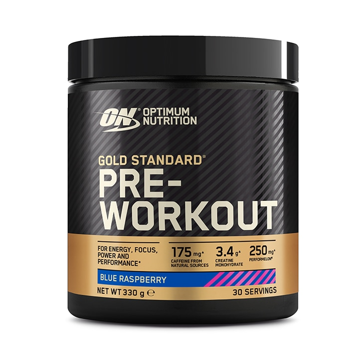 Optimum Nutrition Gold Standard Pre Workout Blue Raz 330g