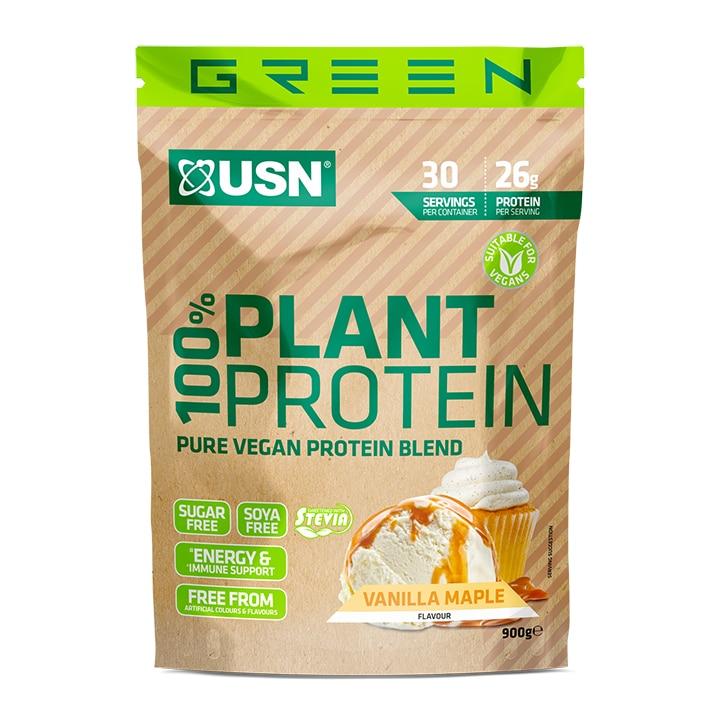 USN 100% Plant Protein Vanilla 900g