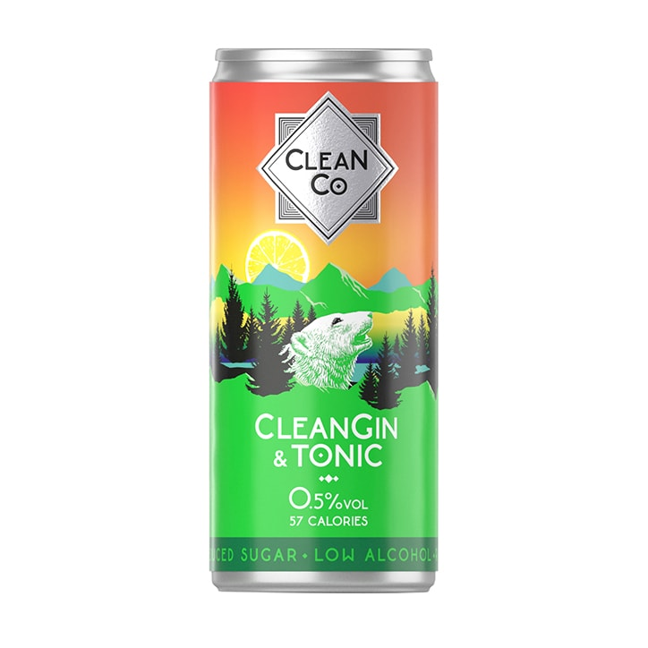 CleanGin & Tonic 250ml