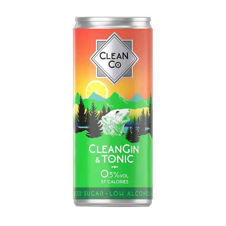 CleanGin & Tonic 250ml