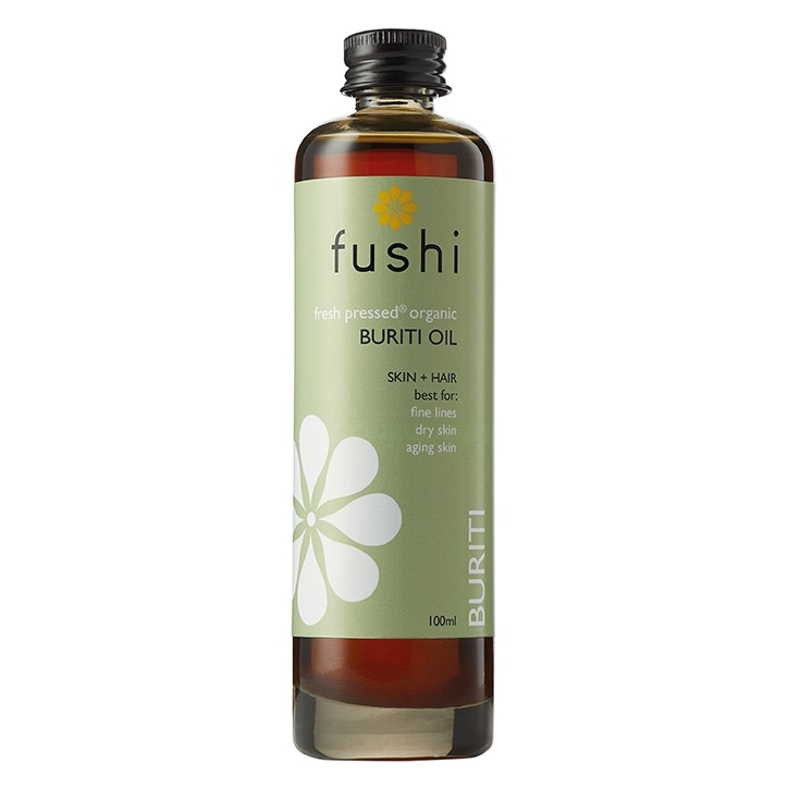Fushi Fresh-Pressed Organic Buriti Oil 100ml