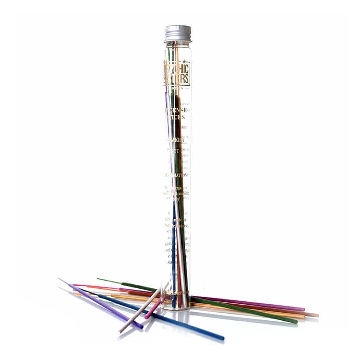 Psychic Sisters Chakra Set Incense Sticks 14 Sticks