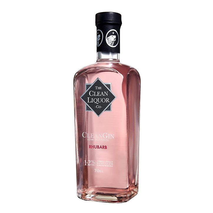 CleanGin Rhubarb 70cl