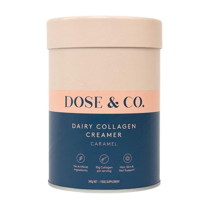 Dose & Co Dairy Collagen Creamer Caramel 340g