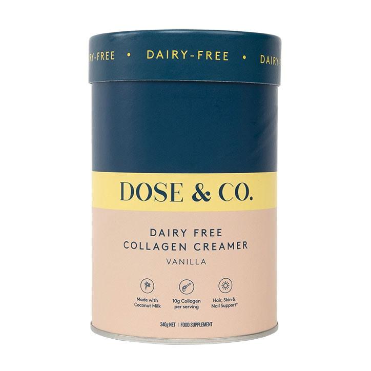 Dose & Co Dairy-Free Collagen Creamer Vanilla 340g