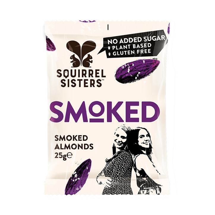 Squirrel Sisters Smoked Almonds 25g