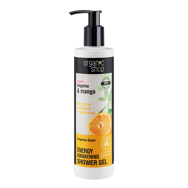 Organic Shop Energy Tangerine Storm Shower Gel 280ml