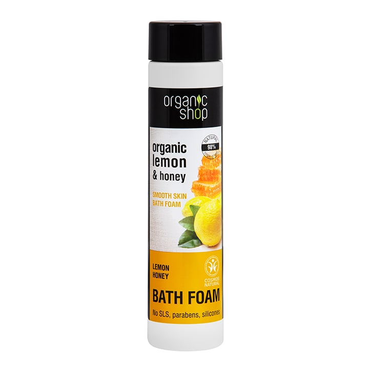 Organic Shop Smooth Skin Lemon Honey Bath Foam 500ml