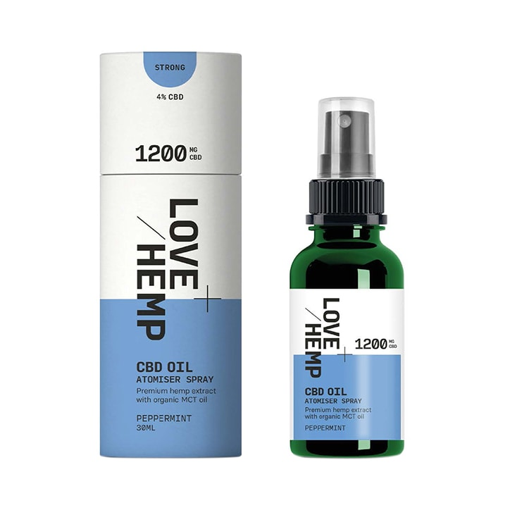 Love Hemp 1200mg CBD Spray Peppermint 30ml