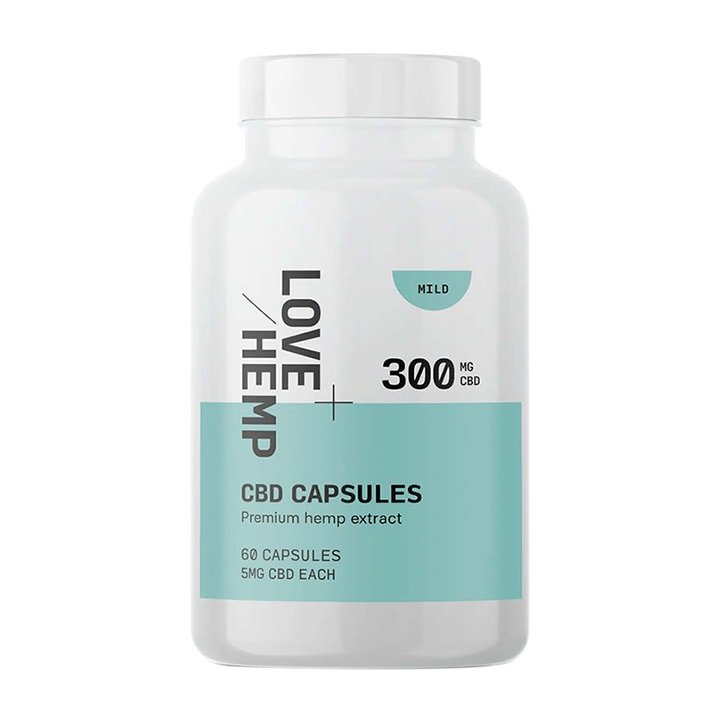 Love Hemp CBD 300mg 60 Capsules
