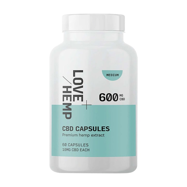 Love Hemp CBD 600mg 60 Capsules