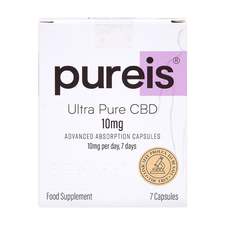 Pureis® Ultra Pure CBD Advanced Absorption 10mg 7 Capsules