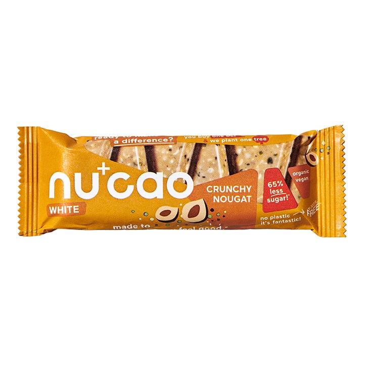 nucao White - Organic Crunchy Nougat 40g