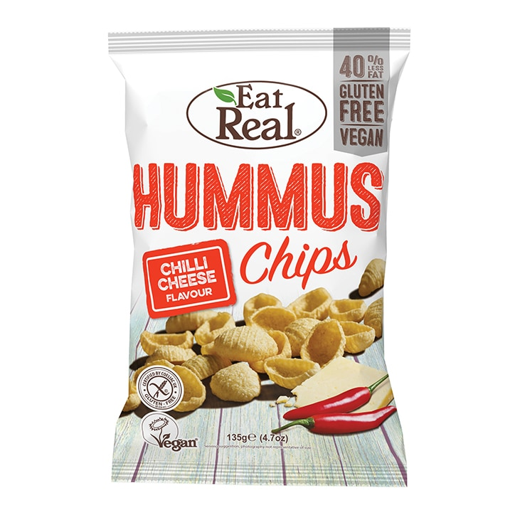 Eat Real Hummus Chips Chilli Cheese 135g