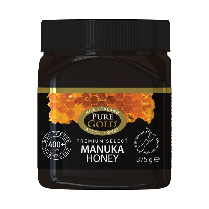 Pure Gold Premium Select Manuka Honey MGO 400 375g
