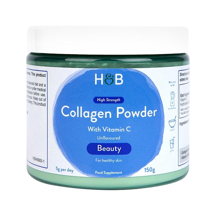 Holland & Barrett Collagen Unflavoured Powder 150g