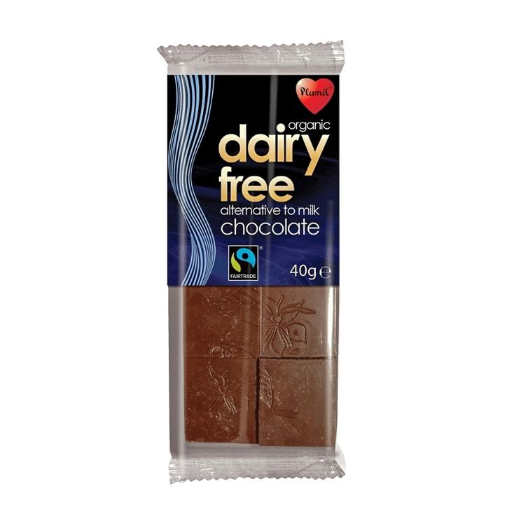 Plamil Foods Fairtrade Organic Alternative to Milk Chocolate 40g