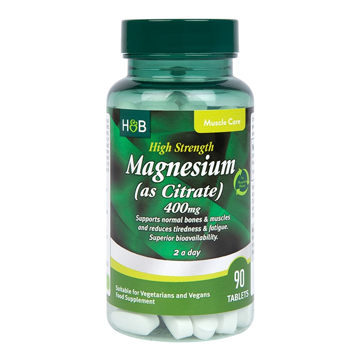 Holland & Barrett Magnesium Citrate 600mg 90 Tablets