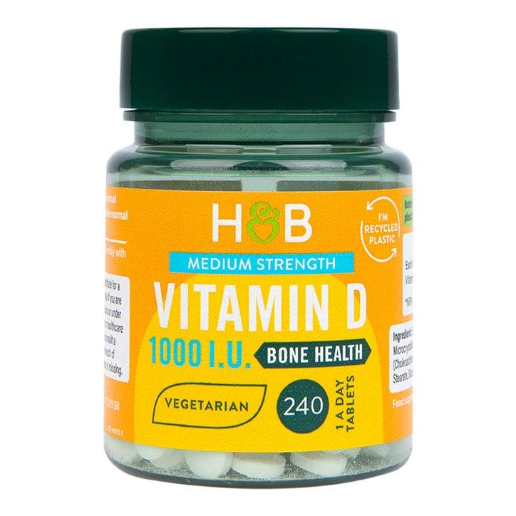 Holland & Barrett Vitamin D3 25ug 240 Tablets