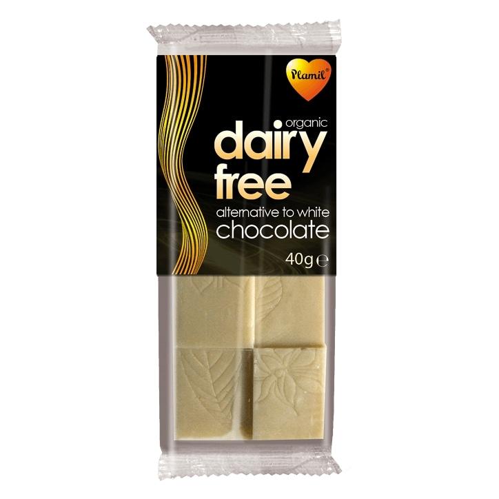 Plamil Organic Alternative to White Chocolate 40g