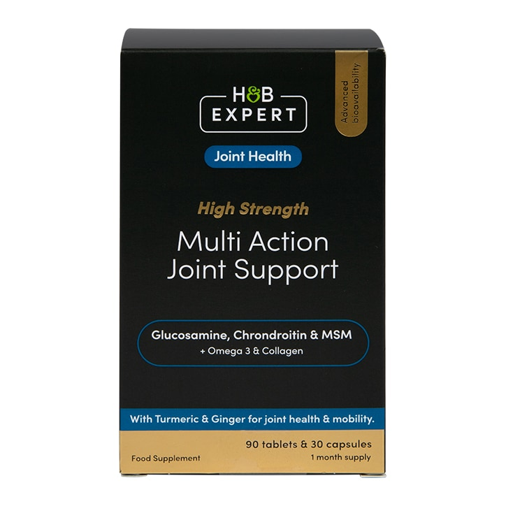 H&B Expert Multi Action Joint Support 30 Capsules
