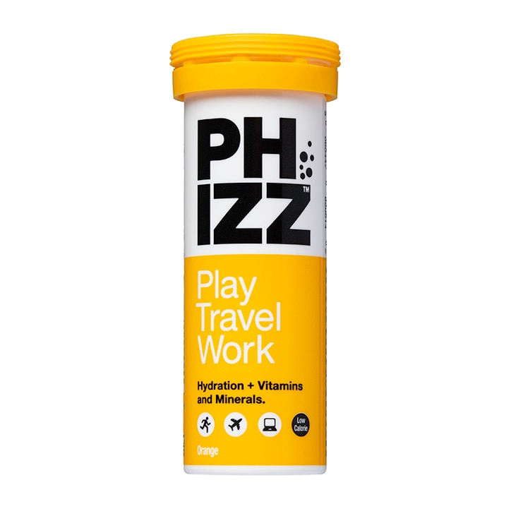 Phizz Orange Multivitamin & Hydration Effervescent 10 Tablets