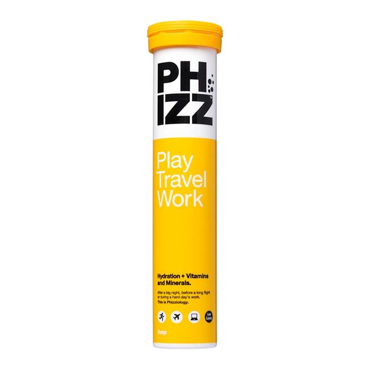 Phizz Orange Multivitamin & Hydration Effervescent 20 Tablets