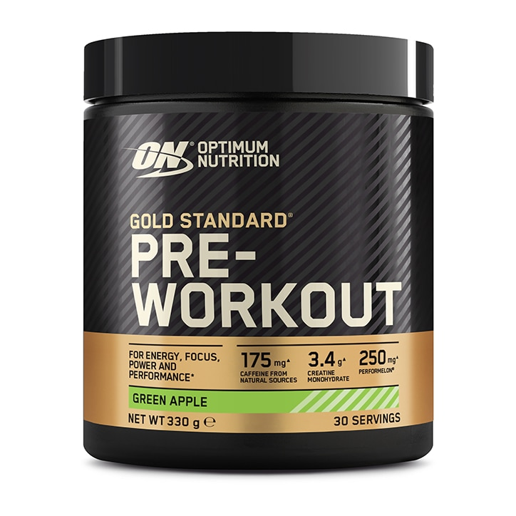 Optimum Nutrition Gold Standard Pre-Workout Powder Green Apple