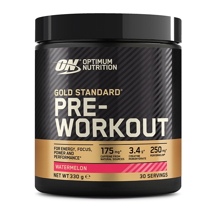 3de064b2a Optimum Nutrition Gold Standard Pre-Workout Powder Watermelon. 38 - Fitness  Nutrition Hydration and Supplements ...