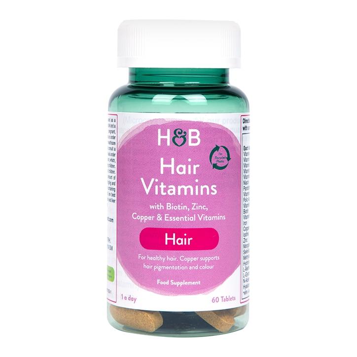 Holland & Barrett Hair Vitamins 60 Tablets