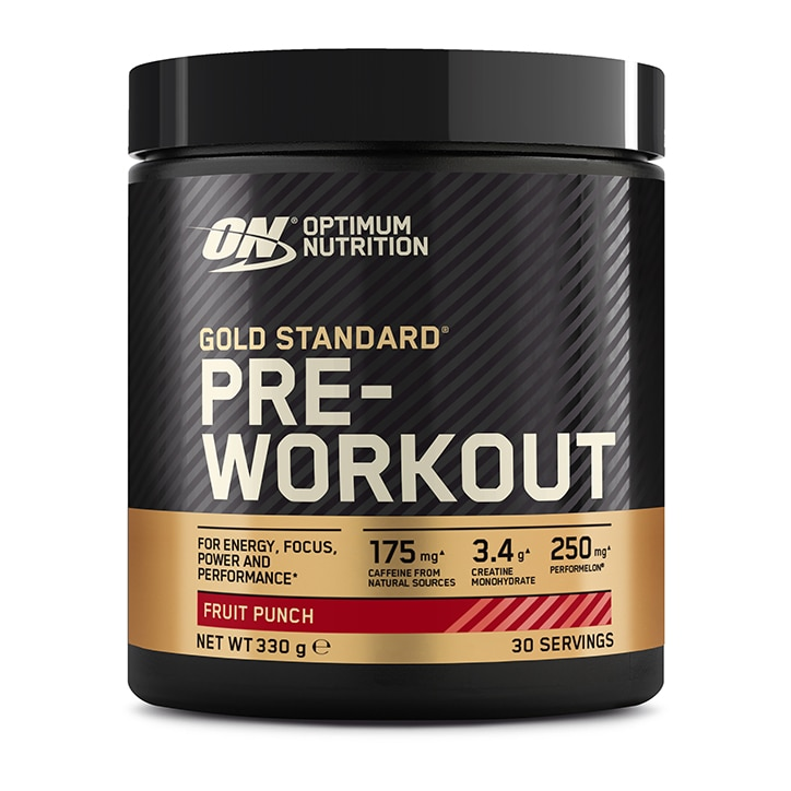 Optimum Nutrition Gold Standard Pre Workout Fruit Punch 330g