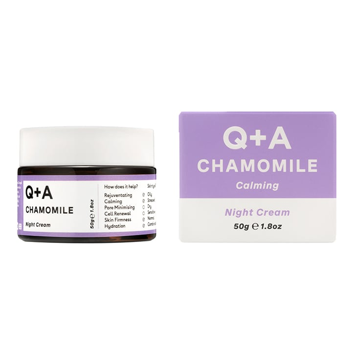 Q+A Chamomile Night Cream 50g